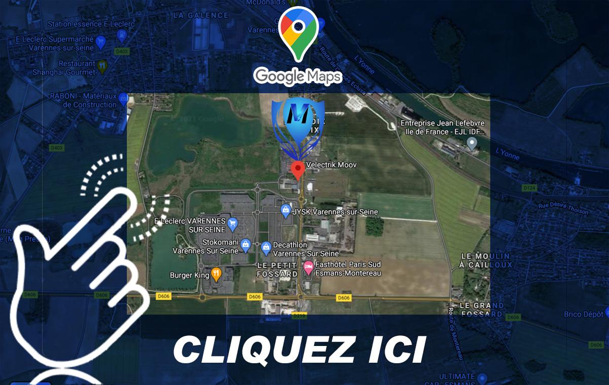 Où nous trouver ? - Velectrik Moov 77 - Melun - Fontainebleau - Provins - Montereau - Varennes sur seine